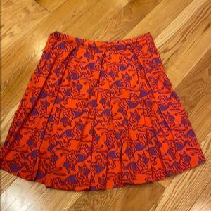 LuLaRoe Madison box pleated skirt